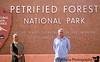 At Petrified Forest National Park, AZ