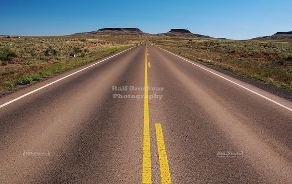 Navajo Service Route 6 near Holbrook, Arizona
