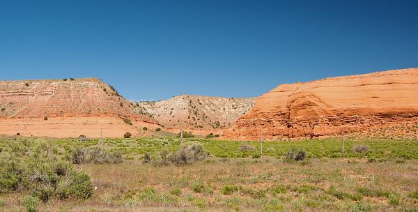 Mesa near Indian Route 15