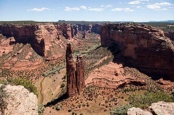 Spider Rock in Canyon de Chelly National Monument