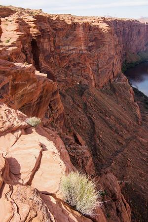 Glen Canyon Dam in Page, Arizona, USA