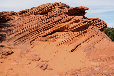 Red Pancake Rocks