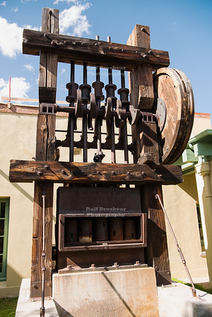 Stamp Mill with Five Batteries