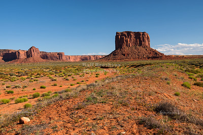 Mitchell Butte in Oljato–Monument Valley