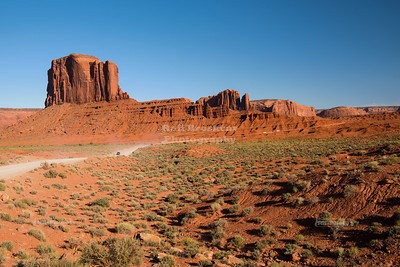 Elephant Butte in Monument Valley