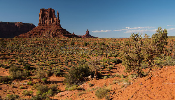 West Mitten Butte in Monument Valley Navajo Tribal Park