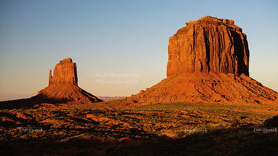 """Lights Out"" in Monument Valley"