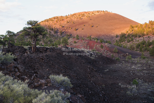 Sunset at Sunset Crater Volcano