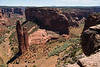 Spider Rock in Canyon de Chelly, Arizona