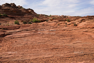 Rock Layers at Glen Canyon