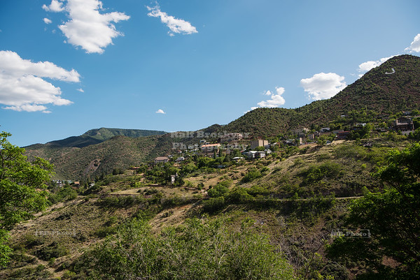 Jerome, a town in the Black Hills of Yavapai County, Arizona