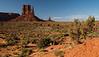 West Mitten Butte in Monument Valley Navajo Tribal Park