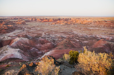 Painted Desert in the late evening light
