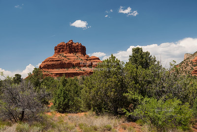 Bell Rock near Oak Creek Village, Arizona
