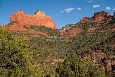 Towering Red Rock Formations of Sedona