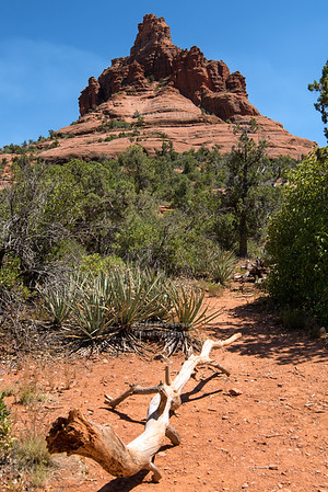 Bell Rock just north of the Village of Oak Creek, Arizona