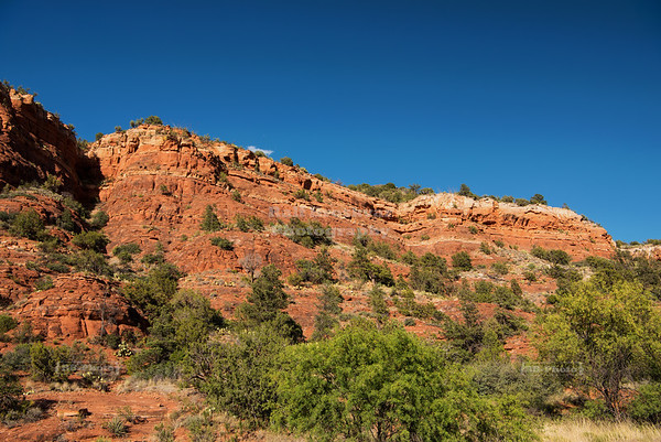 Rock formation along the Sedona Red Rock Loop Scenic Drive