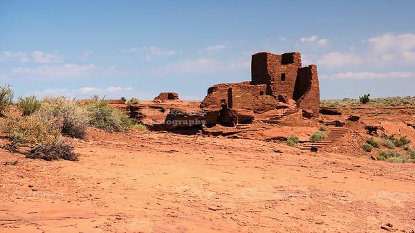 Wukoki Pueblo Ruins near Flagstaff, Arizona