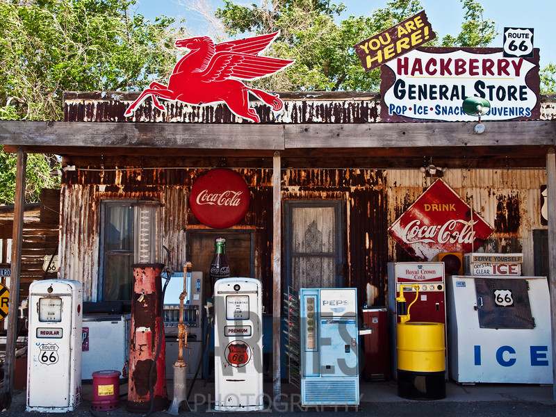 Hackberry General Store, Hackberry, Route 66, Arizona, USA