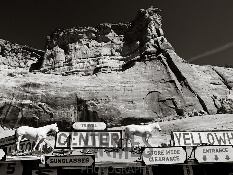 Yellowhorse Trading Post, Lupton, Arizona, USA