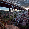 Midgley Bridge at dusk, Sedona, Arizona