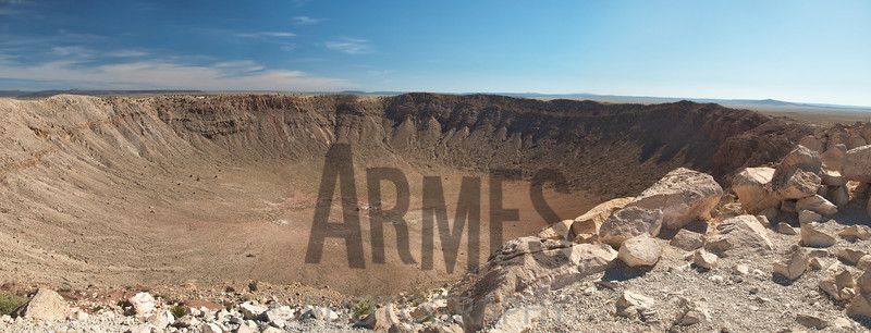 Meteor Crater, Winslow, Arizona, USA