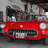 1957 Red Corvette<br /> Hackberry General Store, Hackberry, Route 66, Arizona, USA