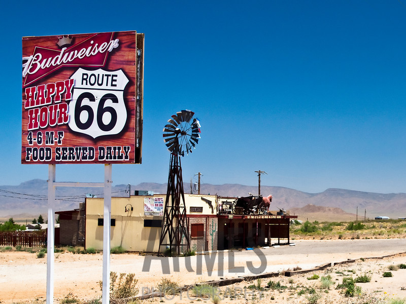 Route 66 Outpost Saloon, 9321 E Hwy 66, Kingman, Arizona, USA