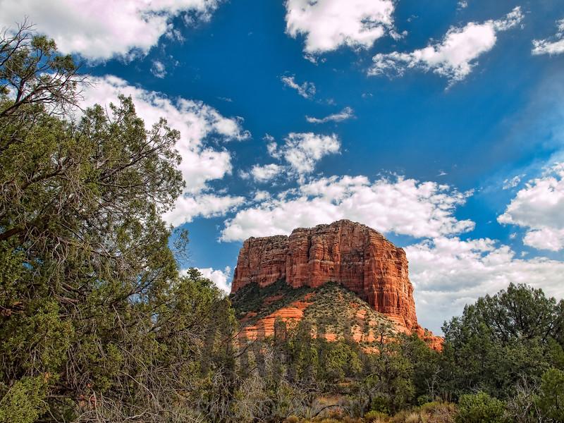 Courthouse Rock, Coconino National Forest, Sedona, Arizona