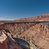 Navajo Bridge spanning Marble Canyon, Colorado River near Page, Arizona