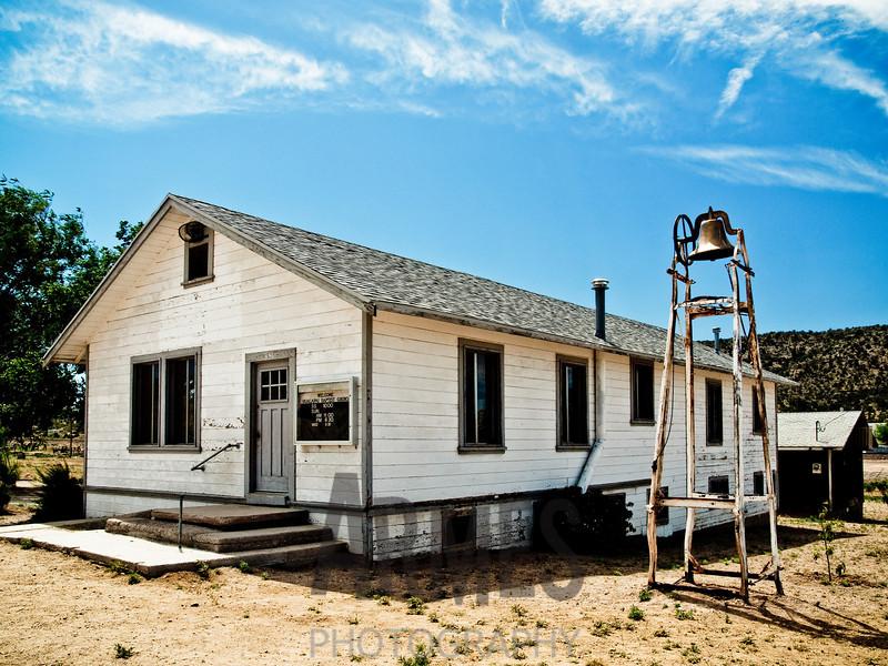 Hualapai Baptist Church, Route 66, Peach Springs, Arizona, USA