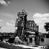 Junction Bridge crossing the Arkansas River<br /> Little Rock, Arkansas, USA