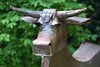 """""""Cow"""" ~ Dave Taylor ~ Grovewood Gallery ~ Asheville, NC<br /> <br /> <a href=""""http://www.grovewood.com/garden-sculpture/dave-taylor/"""">http://www.grovewood.com/garden-sculpture/dave-taylor/</a><br /> <br /> ~ Image by Martin McKenzie ~ All Rights Reserved"""