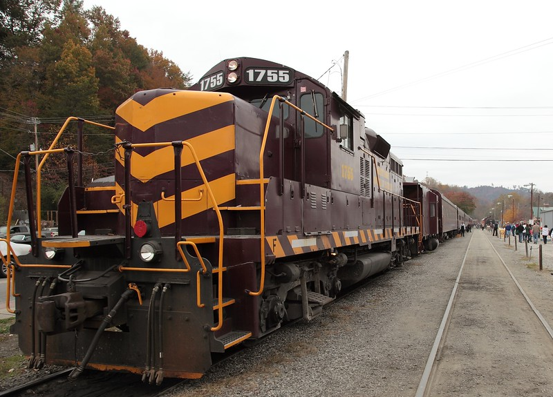 Great Smoky Mountains Railroad - Bryson City, NC<br /> <br /> ~ Image by Martin McKenzie All Rights Reserved ~