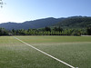 Soccer field at Aspen High School (yes, that's artificial turf...)
