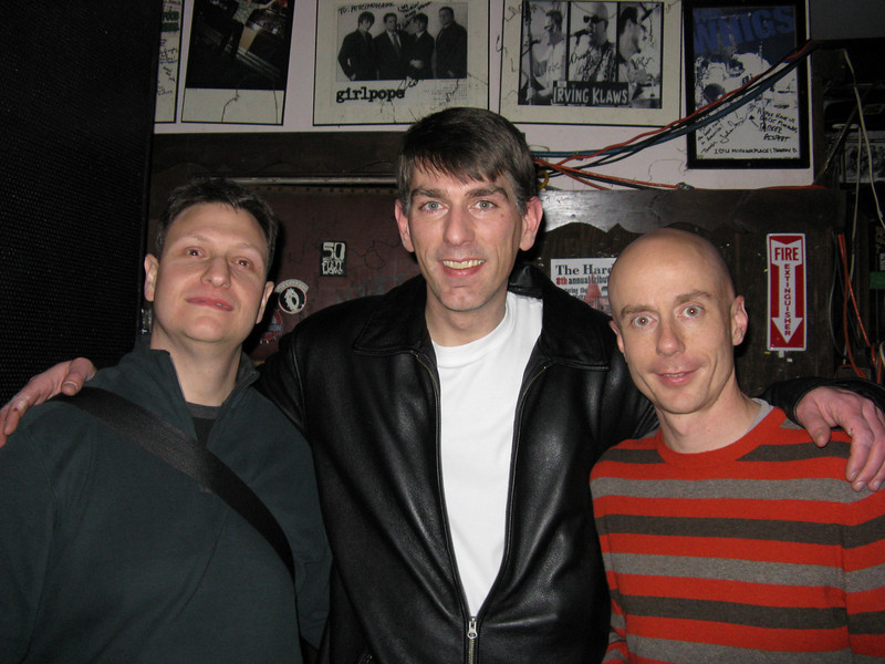 Barry, Marc and me.