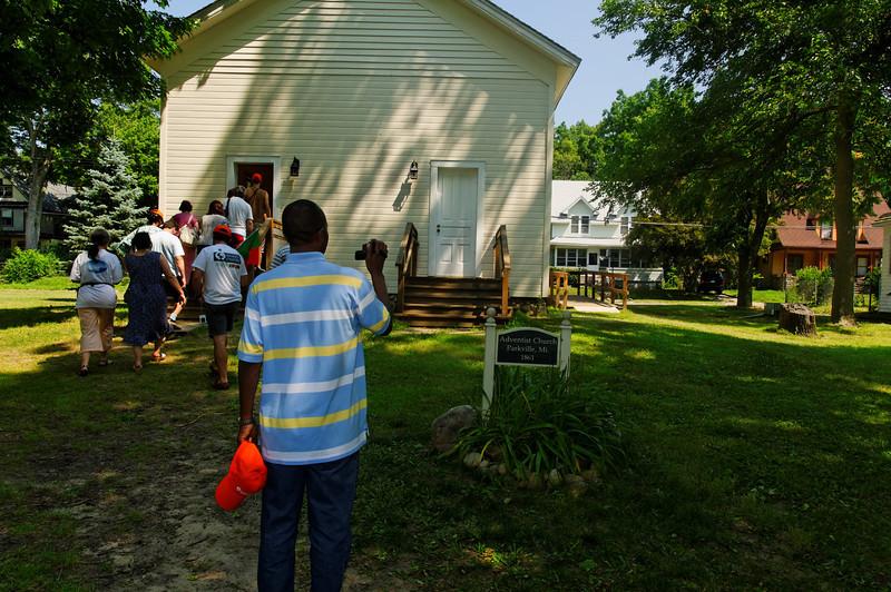 Battle Creek - Historic Adventist Village -  Julho 2010 -  9433