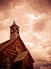 Church in ghost town bodie