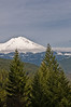 View of Mount Shasta from Castle Crags State Park
