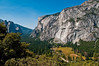 View of Yosemite Valley from Four Mile Trail