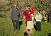 February 8, 2013 - The family goes hiking at Mt.Diablo State Park. My shadow at the bottom taking the picture !