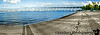 March 27, 2011 - panorama of the Coronado bay bridge, San diego