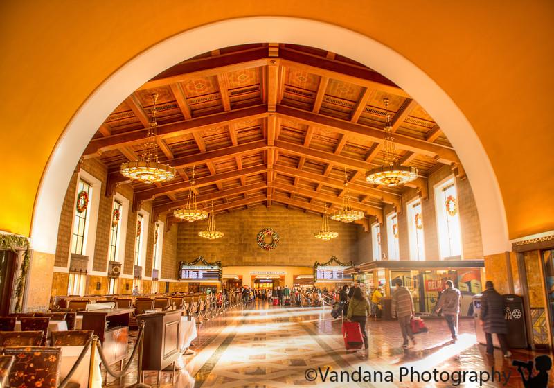January 2, 2015 - LA Union Station - taken over last week's San Diego trip.