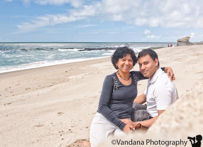 V and K at Laguna beach, CA
