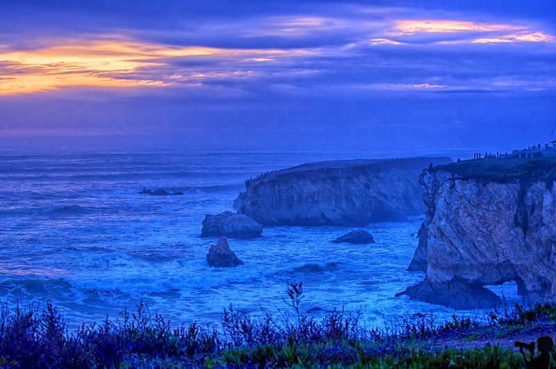 January 28, 2016 - the sunset at Pismo beach
