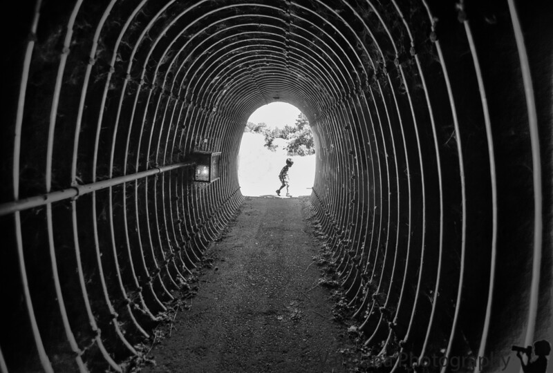 August 24, 2016 - Through the tunnel