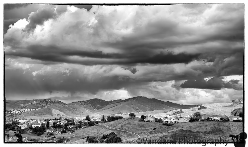 March 1, 2015 - looming clouds