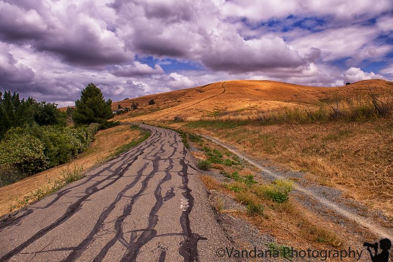 May 16, 2016 - Hiking up Lime Ridge