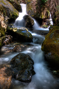 © Joseph Dougherty. All rights reserved.  Hillside creek in Gold Country.