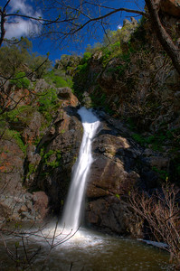 © Joseph Dougherty. All rights reserved.  Knickerbocker Falls, Auburn State Recreation Area; North Fork of the American River.